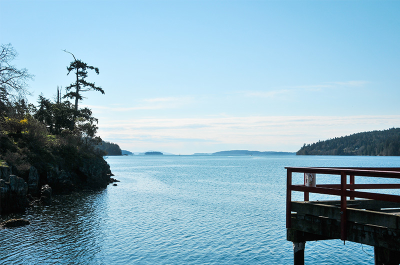 St Mary Lake Rv Sites Daniel Clover Saltspring Island Bc